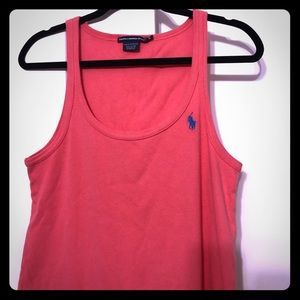 Ralph Lauren Sport Tank Dress XL pink/coral color